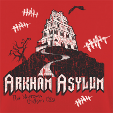 Arkham Asylum - Lady-fit