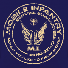 Mobile Infantry - Lady-fit