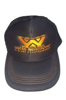 Weyland-Yutani - Orange & Black Cap