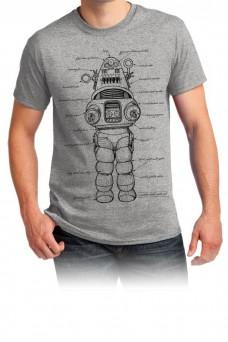 Robbie the Robot - Grey