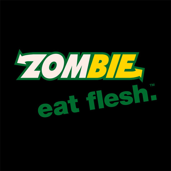 Zombie - Eat Flesh - Lady-Fit